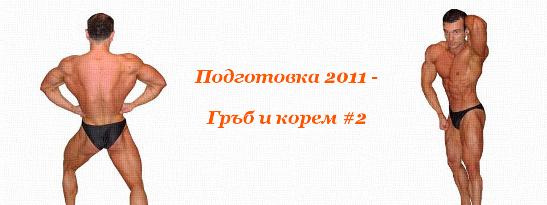 Подготовка 2011 - Гръб и корем #2