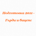 Подготовка 2011 – Гърди и бицепс
