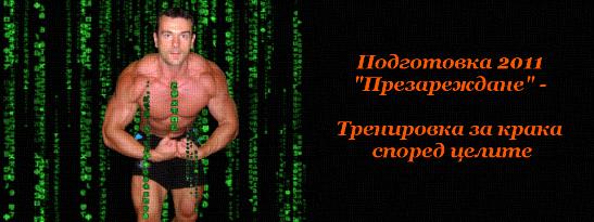 """Подготовка 2011 """"Презареждане"""" - Тренировка за крака според целите"""