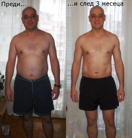 3 месечната промяна на Васил Христов
