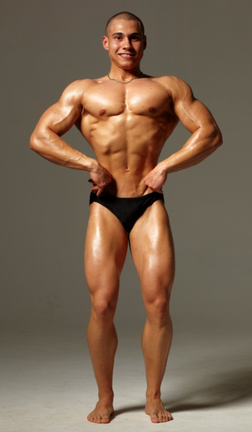Васил Михайлов - най-широк гръб отпред