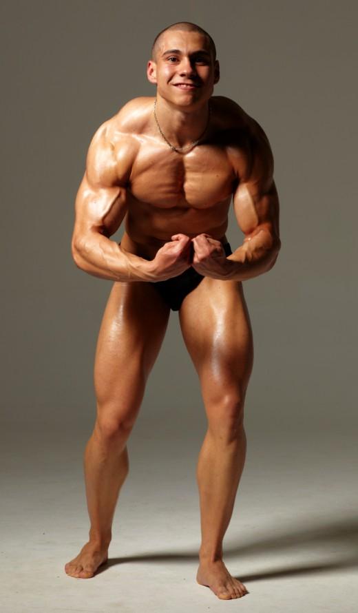 Васил Михайлов - най-мускулеста поза