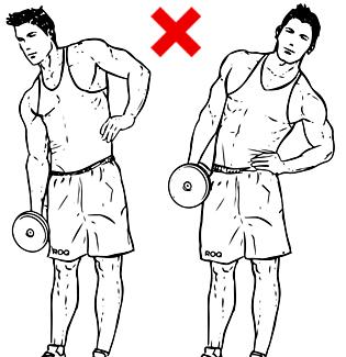 Наклони встрани с дъмбел - не правете това упражнение!