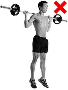 Клек с щанга с отскок - не правете това упражнение!