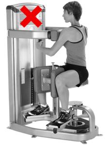 Туист на машина - не правете това упражнение!