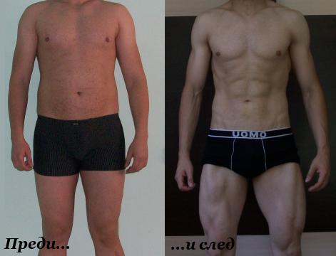 Михаил Ангелов - преди и след