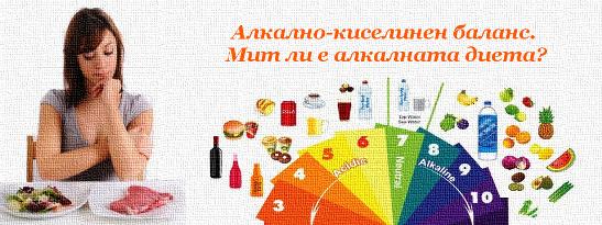 Алкално-киселинен баланс. Мит ли е алкалната диета?
