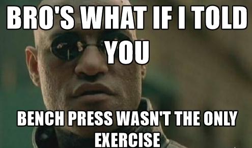 Лежанката не е единственото упражнение за гърди