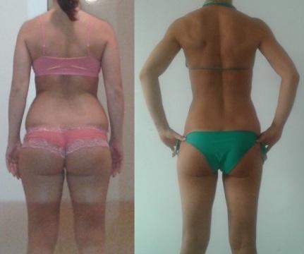 Мария - преди и след
