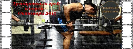 Функционален бодибилдинг: гръб и корем