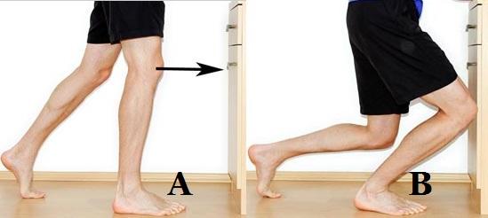 мобилизация на глезена - дорзифлексия