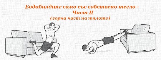 Бодибилдинг само със собствено тегло - Част II (горна част на тялото)